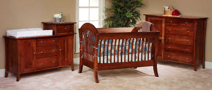 Cribs Made In USA | Solid Wood Childrenu0027s Furniture | Baby Eco Trends