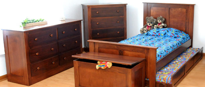 Solid Wood Amish Children's Furniture Made in USA