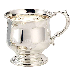 z 12-2-13 Sterling Silver Baby Cup - Pedestal - NO LONGER AVAILALBE