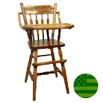 Amish Acorn Baby High Chair