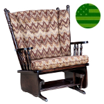 Amish Arcadia Glider - Extra Wide
