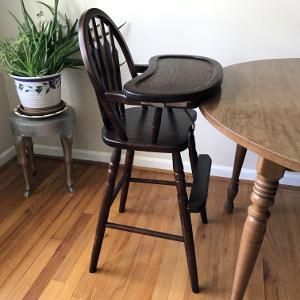 Amish High Chair Arrow Usa Made Baby Furniture Baby