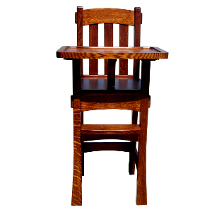 Made.in.America.Amish.Arts.&.Crafts.Baby.High.Chair.Solid.Wood.300.JPG