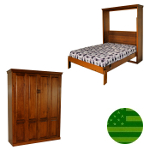 Amish Augusta Murphy Bed