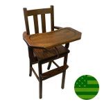 Amish Austin Baby High Chair