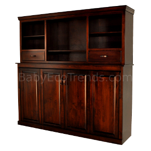 Amish Avalon Bookcase Murphy Bed Made In America Usa Made Eco Friendly Children S Furniture