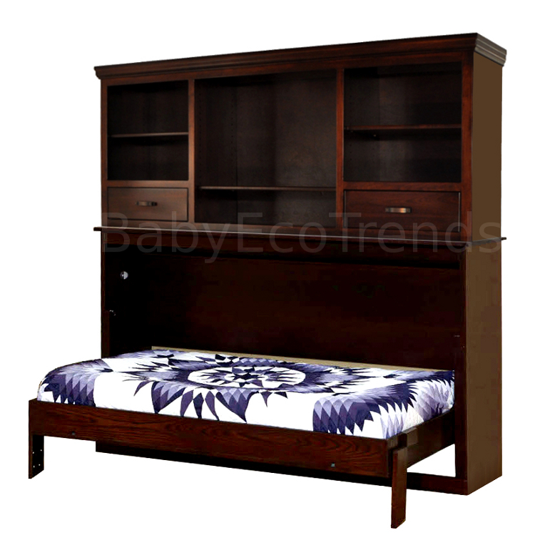 Made.in.America.Amish.Avalon.Bookcase.Murphy.Bed.Open.BETWM750.jpg