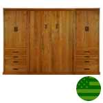 Amish Baldwin Murphy Bed