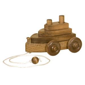 Amish Boat Pull Toy