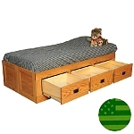 Amish Brady Storage Bed
