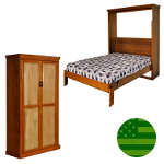 Amish Brickell Murphy Bed