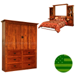 Amish Bristol Murphy Bed