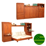 Amish Camden Murphy Wall Bed