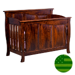 Amish Catalina Panel 4 in 1 Convertible Baby Crib