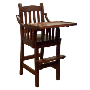 Amish Pinnacle Mission Baby High Chair