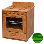 Amish Play Kitchen Stove