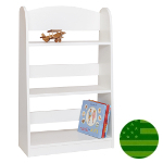Amish Child's White Bookcase