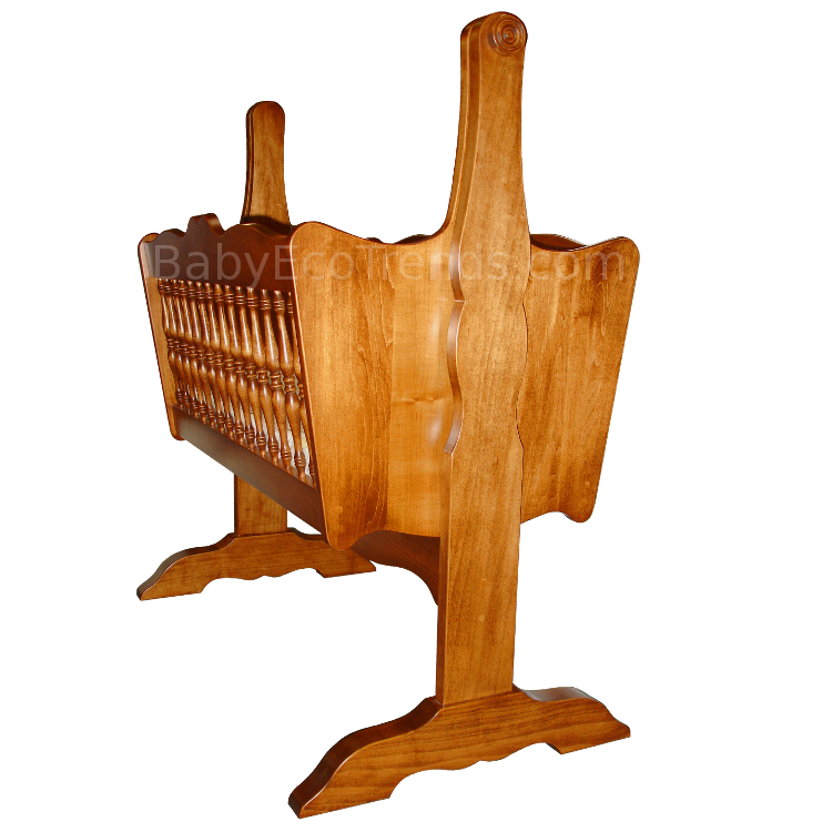 Made.in.America.Amish.Classic.Spindle.Baby.Cradle.Solid.Wood.side.BETWM750.JPG