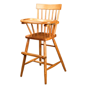 Amish Comb Back Baby High Chair