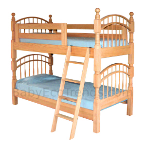 Amish Denver Bunk Bed Custom Children 39 S Furniture Baby Eco Trends