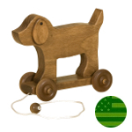 Amish Dog Pull Toy