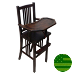 Amish Fairmont Mission Baby High Chair