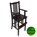 Amish Fairmont Mission Youth Chair