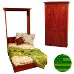 Amish Freeport Murphy Wall Bed