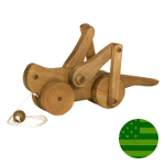Amish Grasshopper Pull Toy