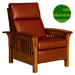 Amish Hacienda Slats Recliner