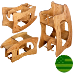 Amish 3 in 1 Baby High Chair