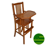 Amish Mission Baby High Chair