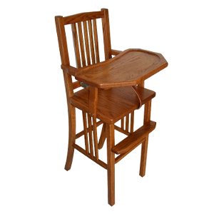 z 6-26-14 Amish Mission Baby High Chair - NO LONGER AVAILABLE