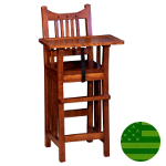 Amish Royal Mission Baby High Chair