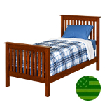 Amish Harper Slats Bed