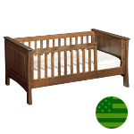 Amish Hayden Toddler Bed