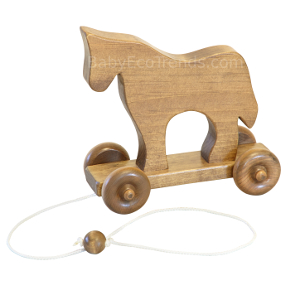 Amish Horse Pull Toy
