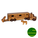 Amish Horse Trailer Truck