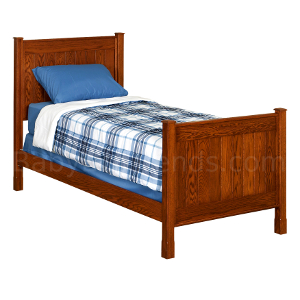 Amish Laine Panel Bed