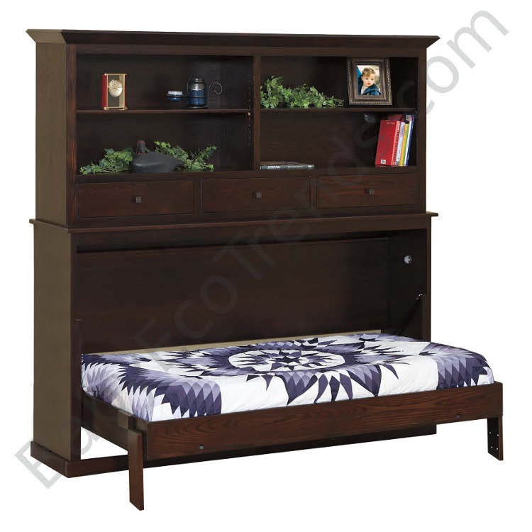 Made.in.America.Amish.Landon.Bookcase.Murphy.Bed.Open.BETWM750.jpg