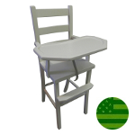 Amish Lenox Baby High Chair