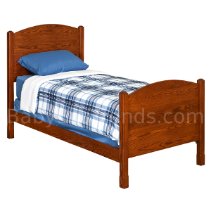 Amish Loren Panel Bed