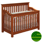 Amish 4 in 1 Convertible Baby Crib - Maddon
