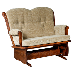 Amish Madison Loveseat Glider