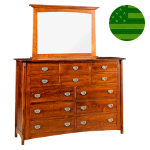 Amish McCoy 12 Drawer Dresser