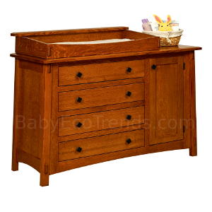 Made.in.America.Amish.McCoy.4.Drawer.Changer.Dresser.with.Door.Changing.Tray.Solid.Wood.BETWM300.jpg