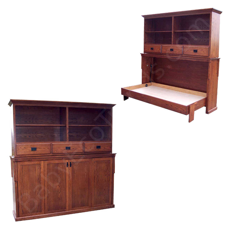 Made.in.America.Amish.Mission.Bookcase.Murphy.Bed.Horizontal.Solid.Wood.BET800.jpg