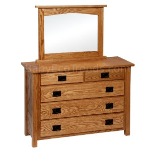Made.in.America.Amish.Mission.Childs.5.Drawer.Dresser.Mirror.Solid.Wood.BETWM300.jpg