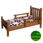 Amish Mission Toddler Bed