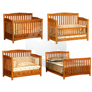 Monterey 4 In 1 Convertible Baby Crib Made In Usa Baby